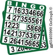 Bingo Card Clip Art.