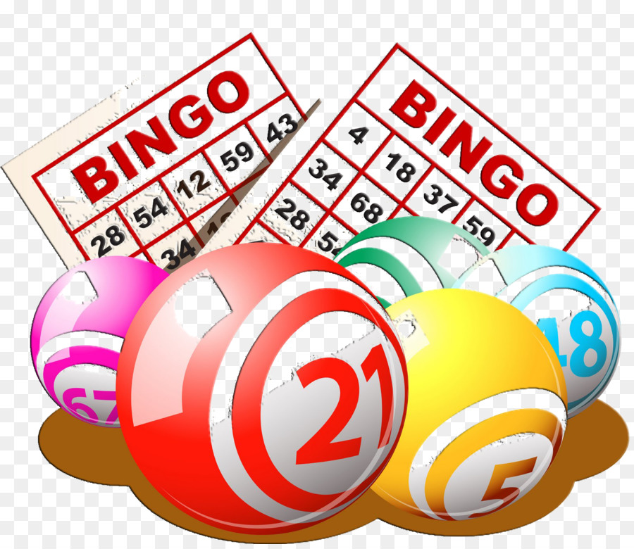 Bingo Card Game Clip Art.
