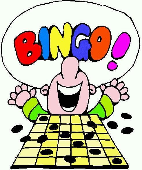 Book Bingo Cliparts.