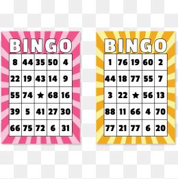 Bingo Card Png, Vectors, PSD, And Clipar #290489.