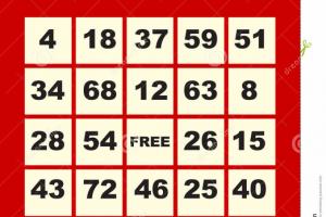 Bingo card clipart free 4 » Clipart Portal.