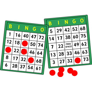Bingo Cards clipart, cliparts of Bingo Cards free download (wmf, eps.