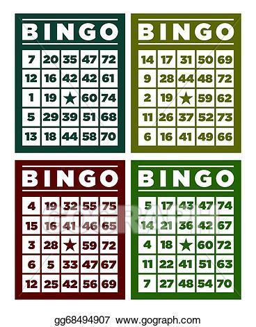 Bingo Card Cliparts 21.