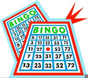 Bingo Card Clipart Free.