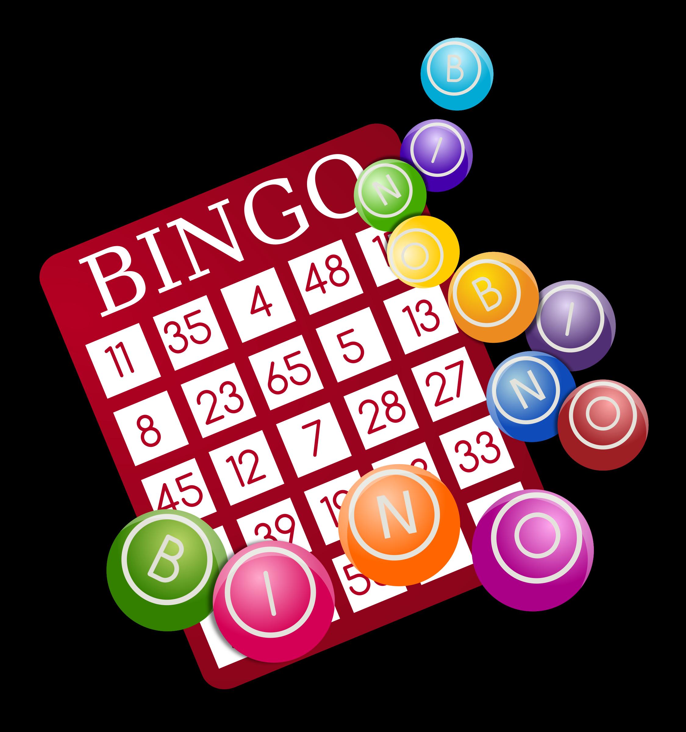 18+ Clip Art Bingo.