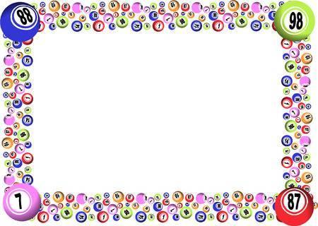 Bingo border clipart 4 » Clipart Portal.