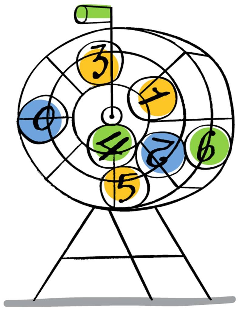 Bingo Clip Art N46 free image.