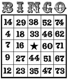 Free Bingo Clipart Black And White, Download Free Clip Art, Free.