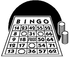 Black And White Bingo Clipart (99+ images in Collection) Page 3.
