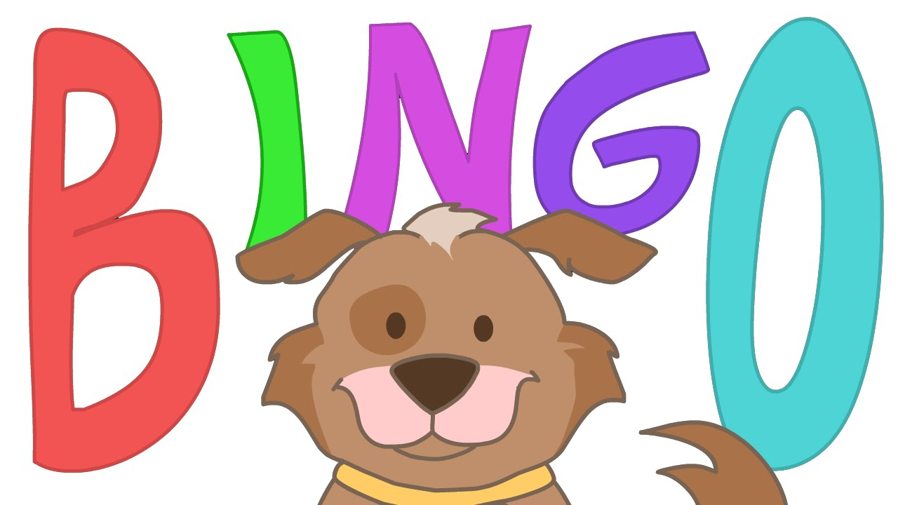 Bingo Dog Clipart.
