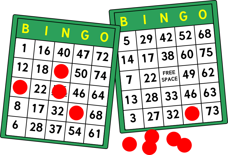 Free Clipart: Bingo Cards.