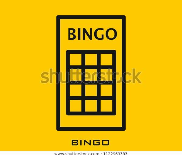 Bingo Icon Signs Symbol Stock Vector (Royalty Free) 1122969383.