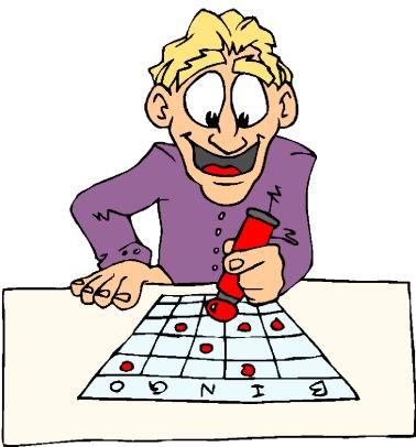 Safety bingo winner clipart.