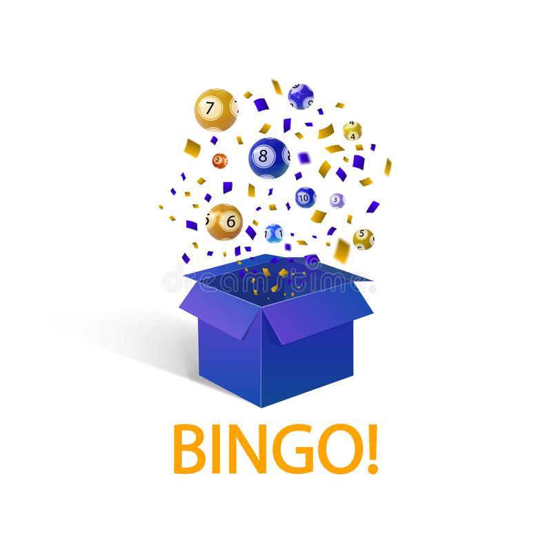 Bingo Winner Stock Illustrations.