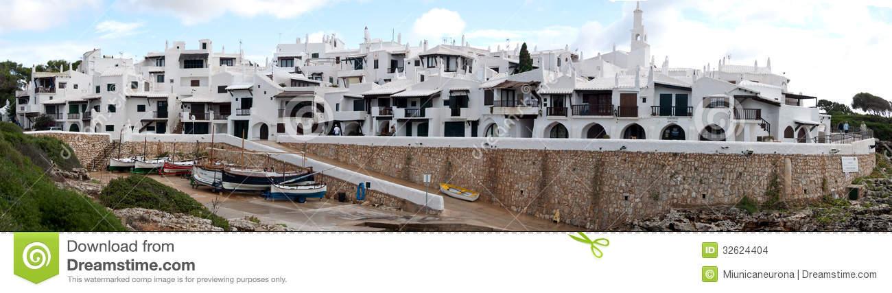 Menorca, Binibeca Bell Stock Images.