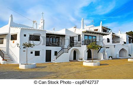 Picture of Binibeca, Balearic Islands, Spain.