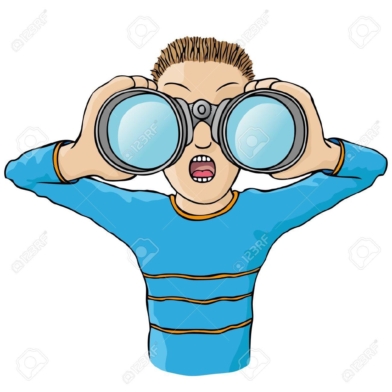 binoculars clipart - photo #5