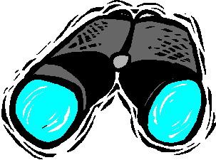 Binocular Clip Art.