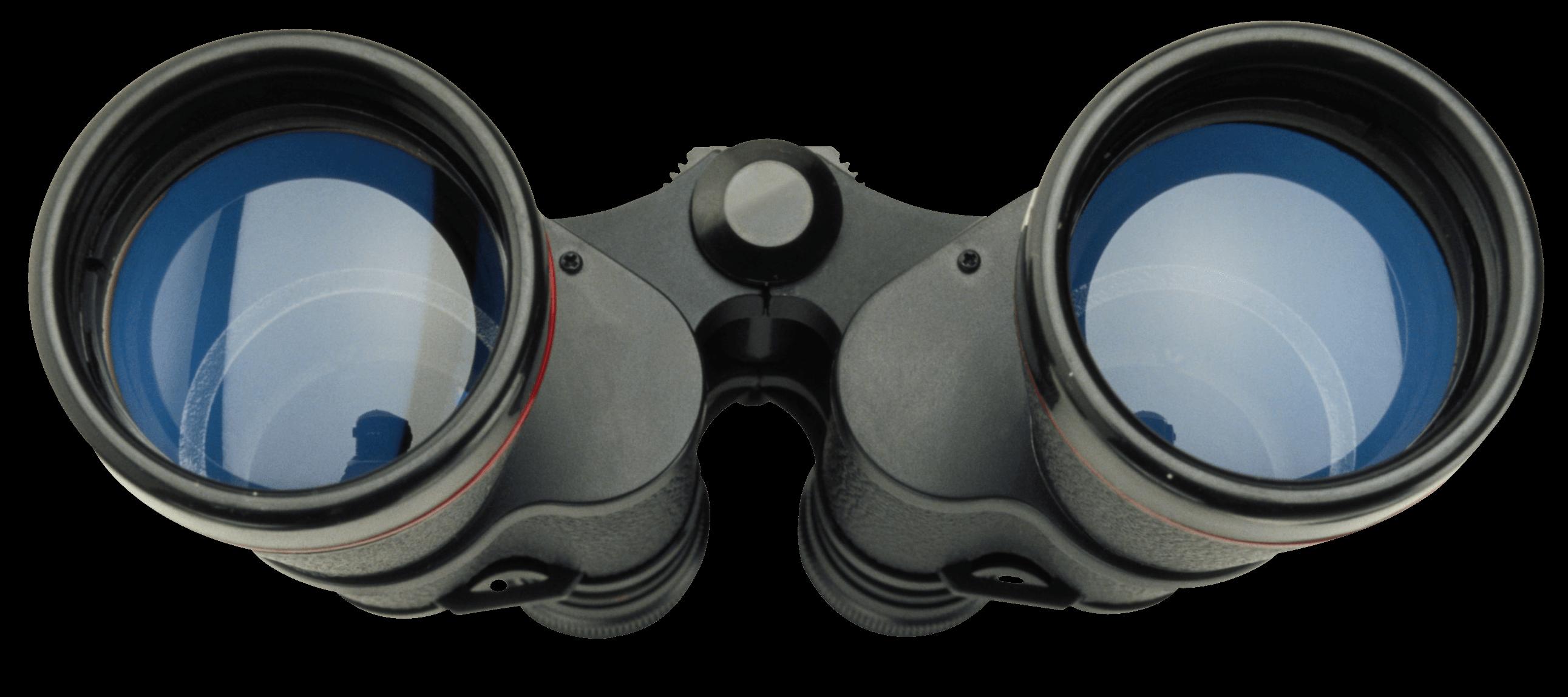 Binocular Through transparent PNG.