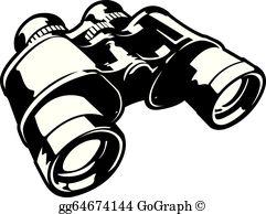 Binoculars Clip Art.