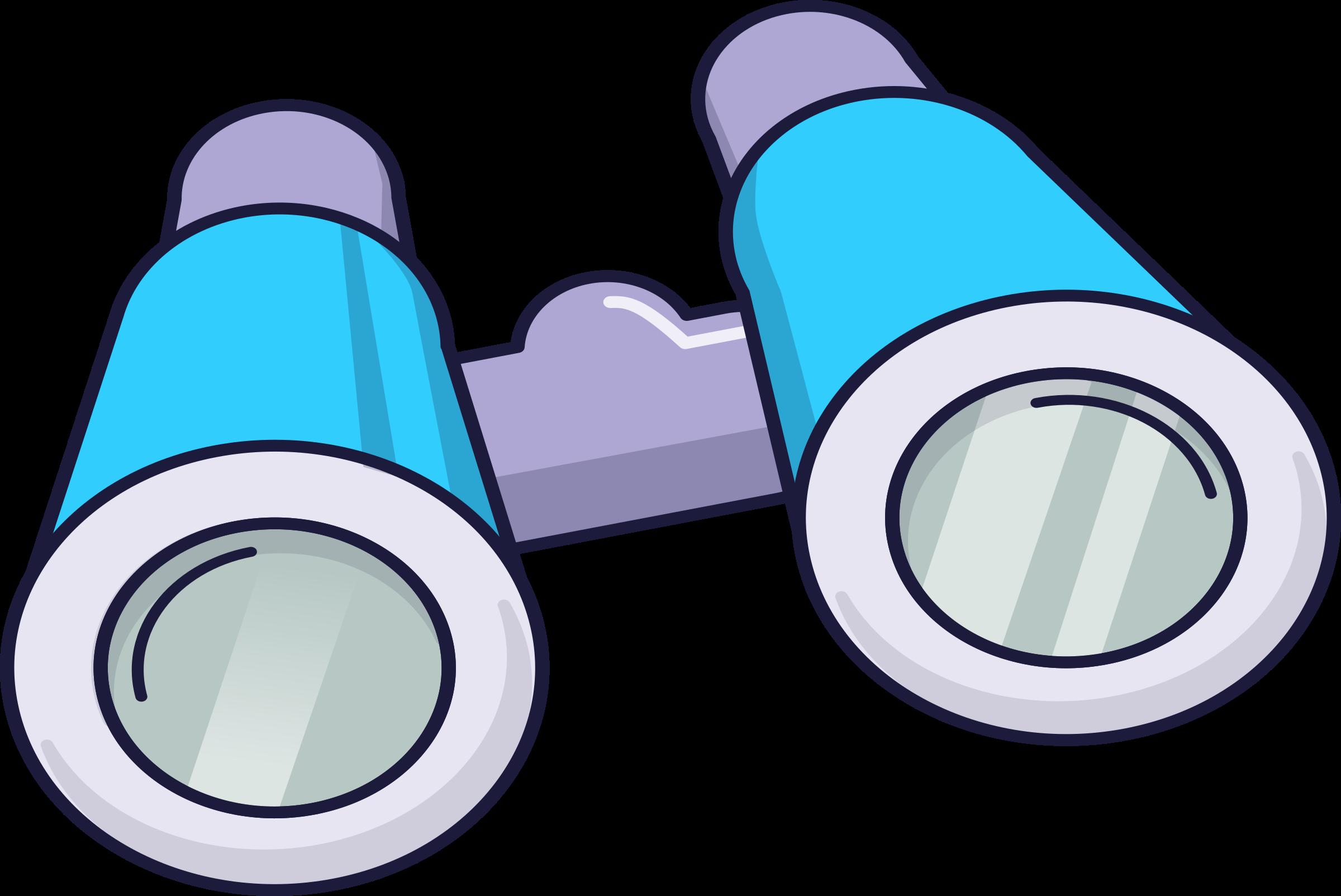 Binoculars clipart blue, Binoculars blue Transparent FREE.
