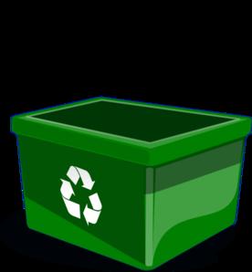 Recycling bins clipart.