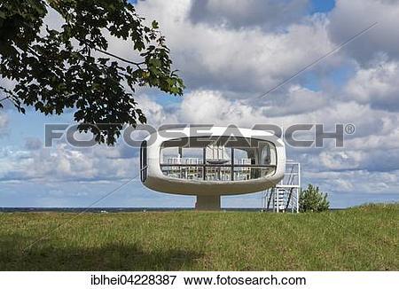 Picture of Wedding Chapel in Binz, Rugen, Mecklenburg.