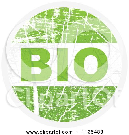 Clipart Green Arrow And Plant Bio Icon.