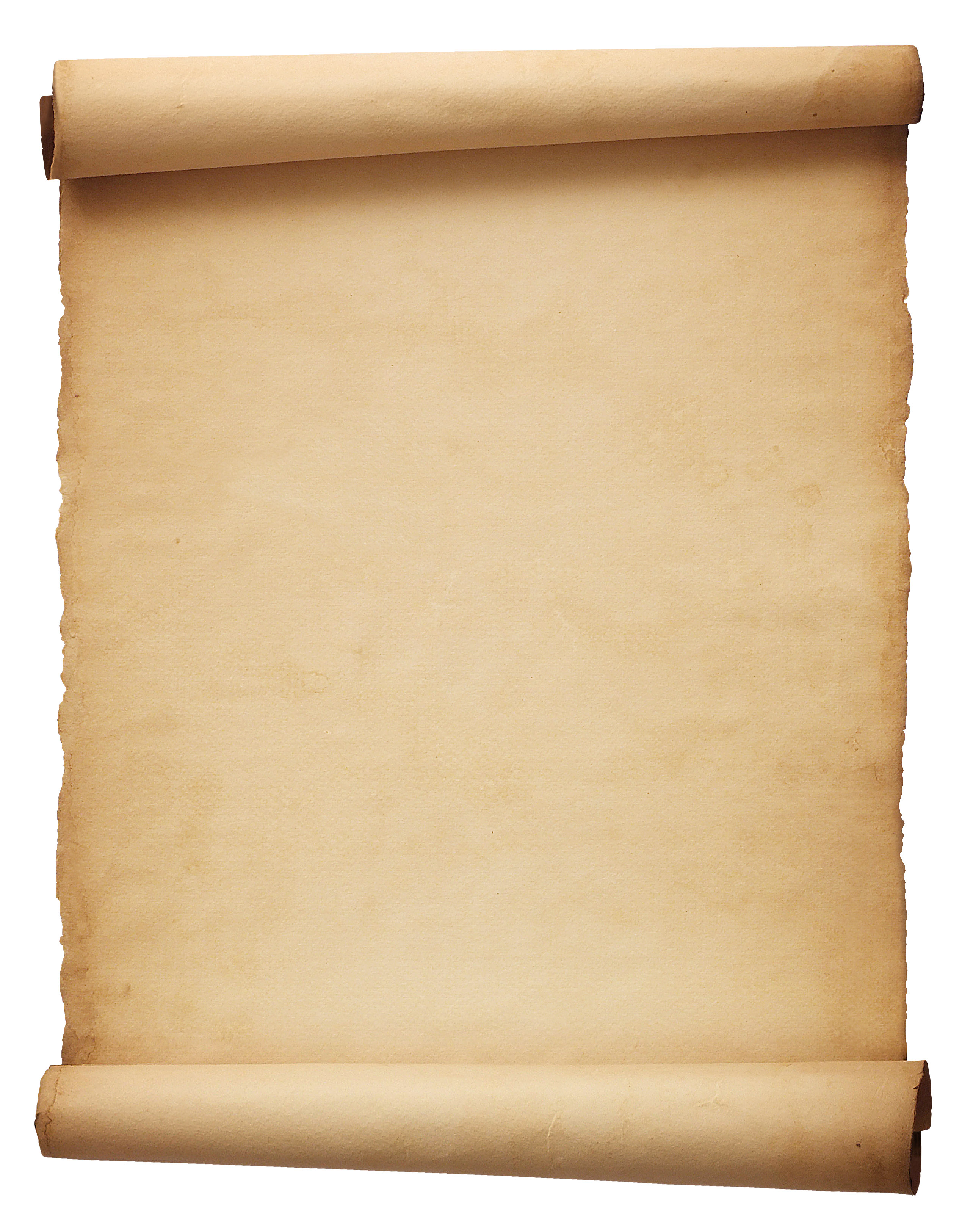 Paper Scroll Clipart.