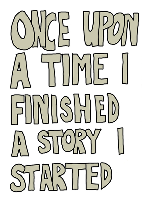 Once upon a time I finished a story I started.