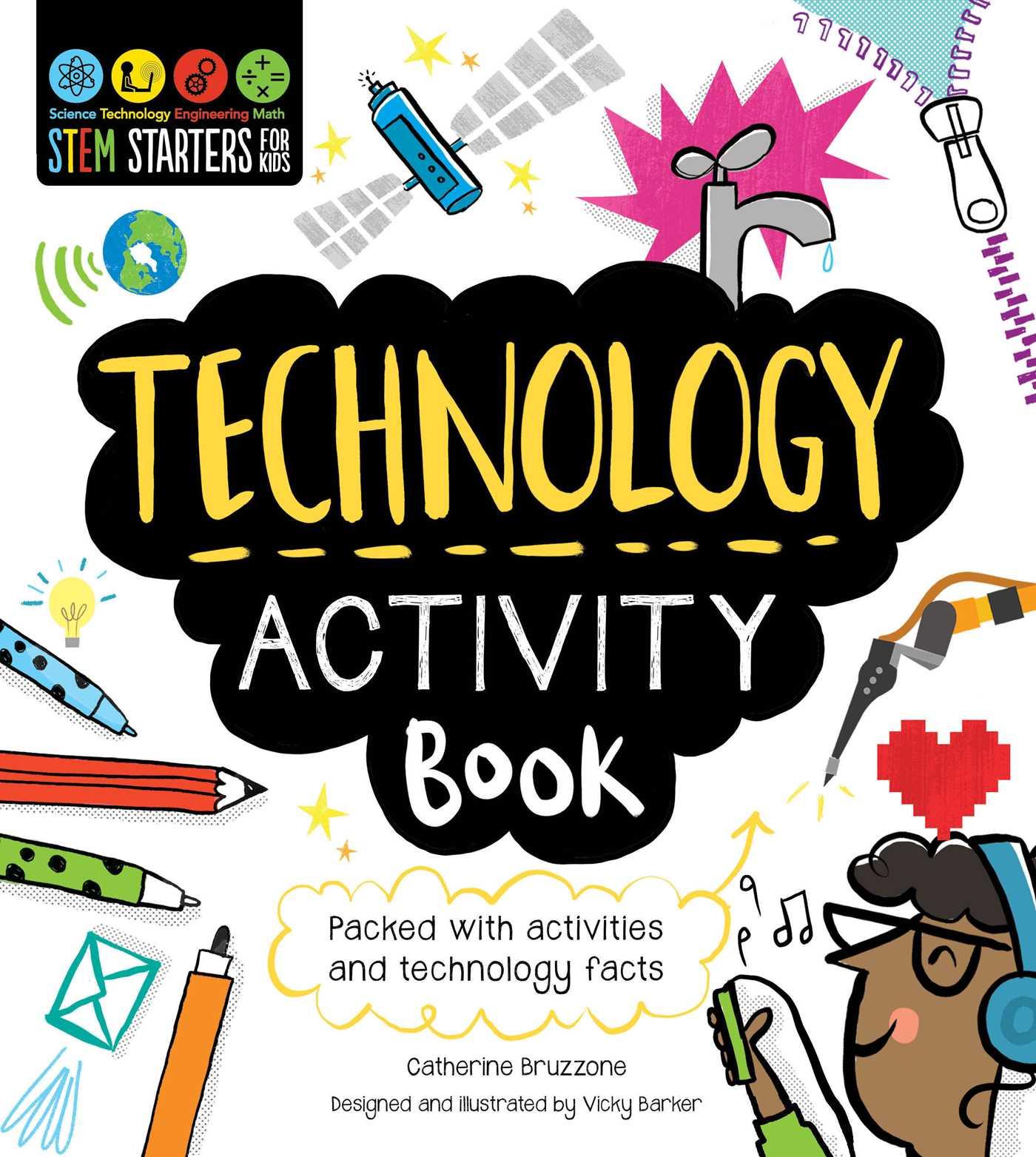 STEM Starters for Kids Technology Activity Book.