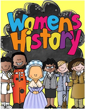 Women\'s History Month: Biography Research Project.