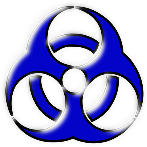 medical biohazard clipart image.