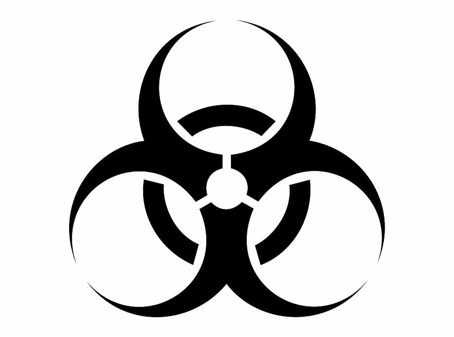 Biohazard, Hazard, Biological, Toxic, Danger, Symbol.