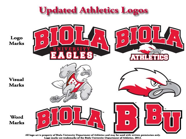 Biola Announces Updated Athletics Website and Logos.