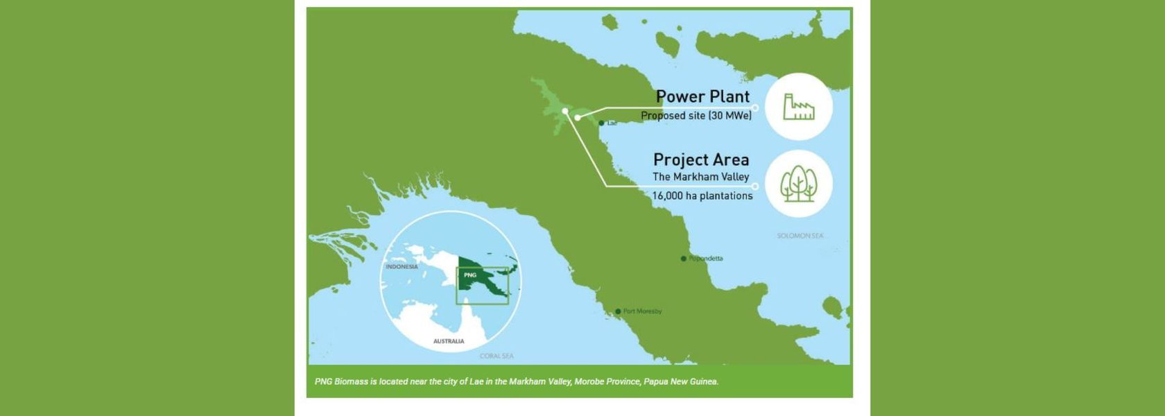 PNG Biomass to tell its story.