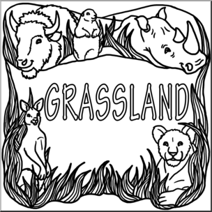 Biome clipart black and white images gallery for Free.