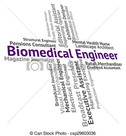 Biomedical Engineering Clip Art.
