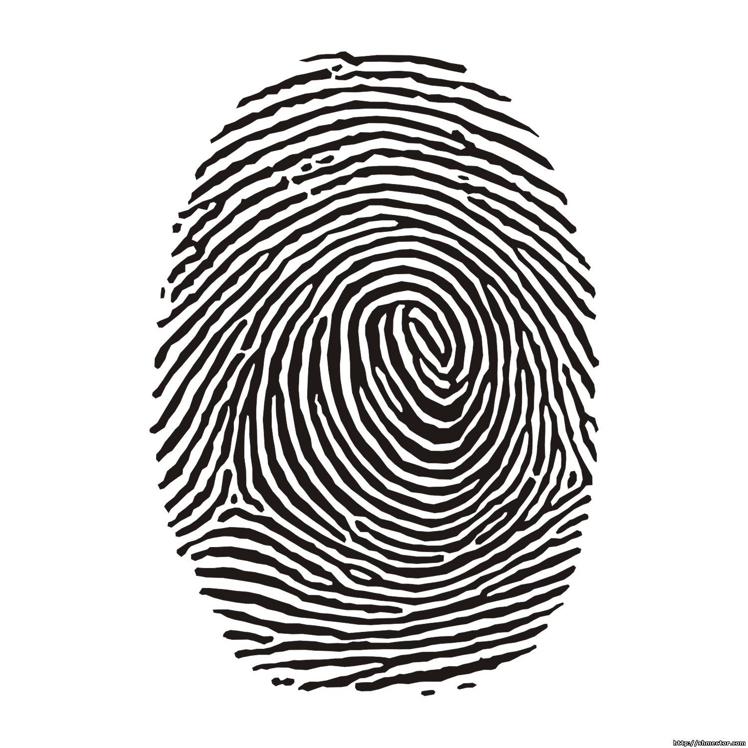 Fingerprint cliparts.