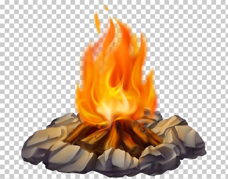 Campfire Bonfire , campfire, bonfire illustration PNG.