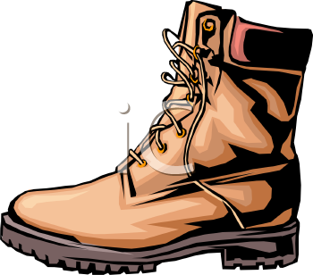 Clipart boot.