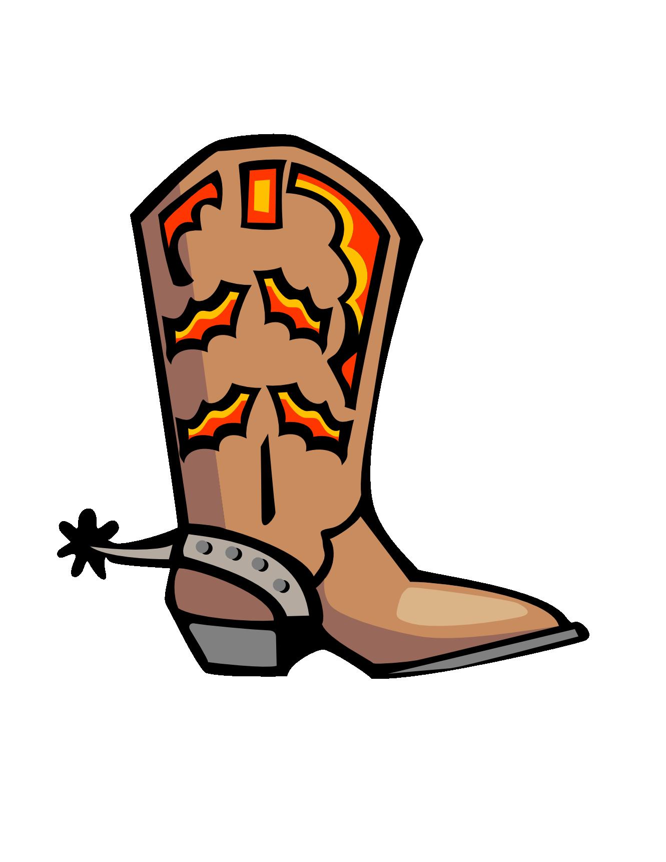 Boot Clip Art Free.