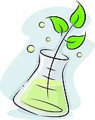 Clip Art of Biotechnology k20072407.