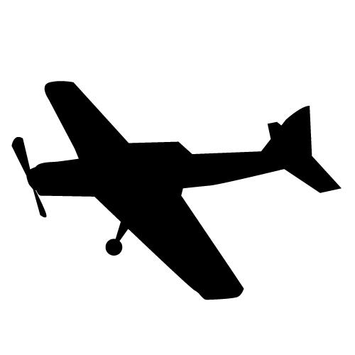 Free Biplane Silhouette Clip Art, Download Free Clip Art.