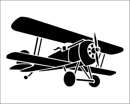 Biplane clipart free download on WebStockReview.
