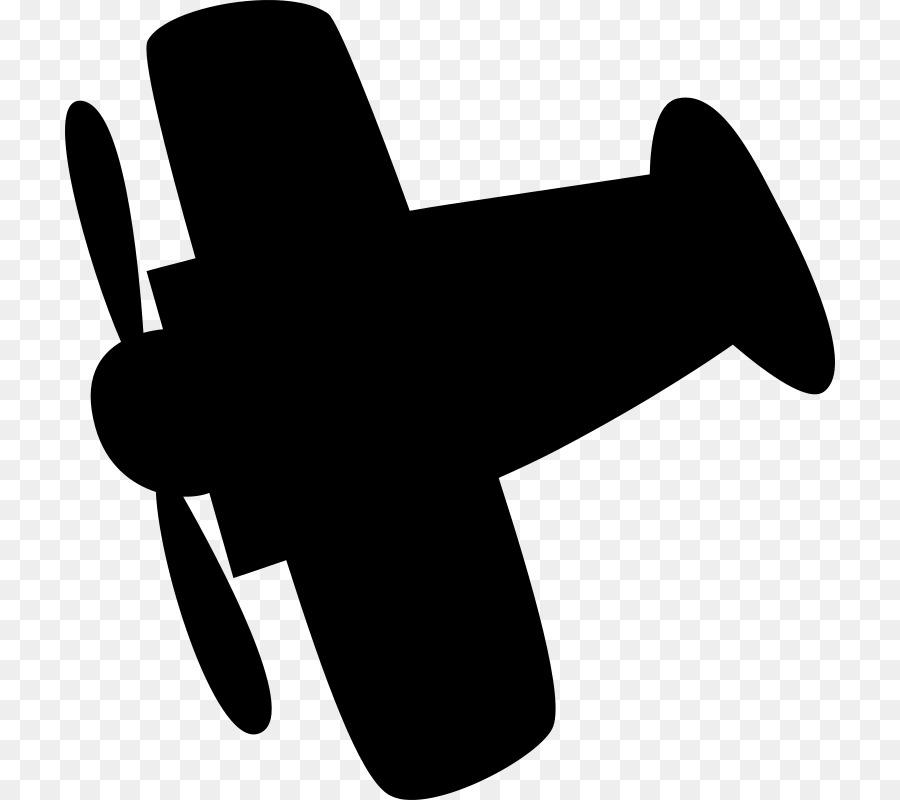 Airplane Silhouette Clip art.