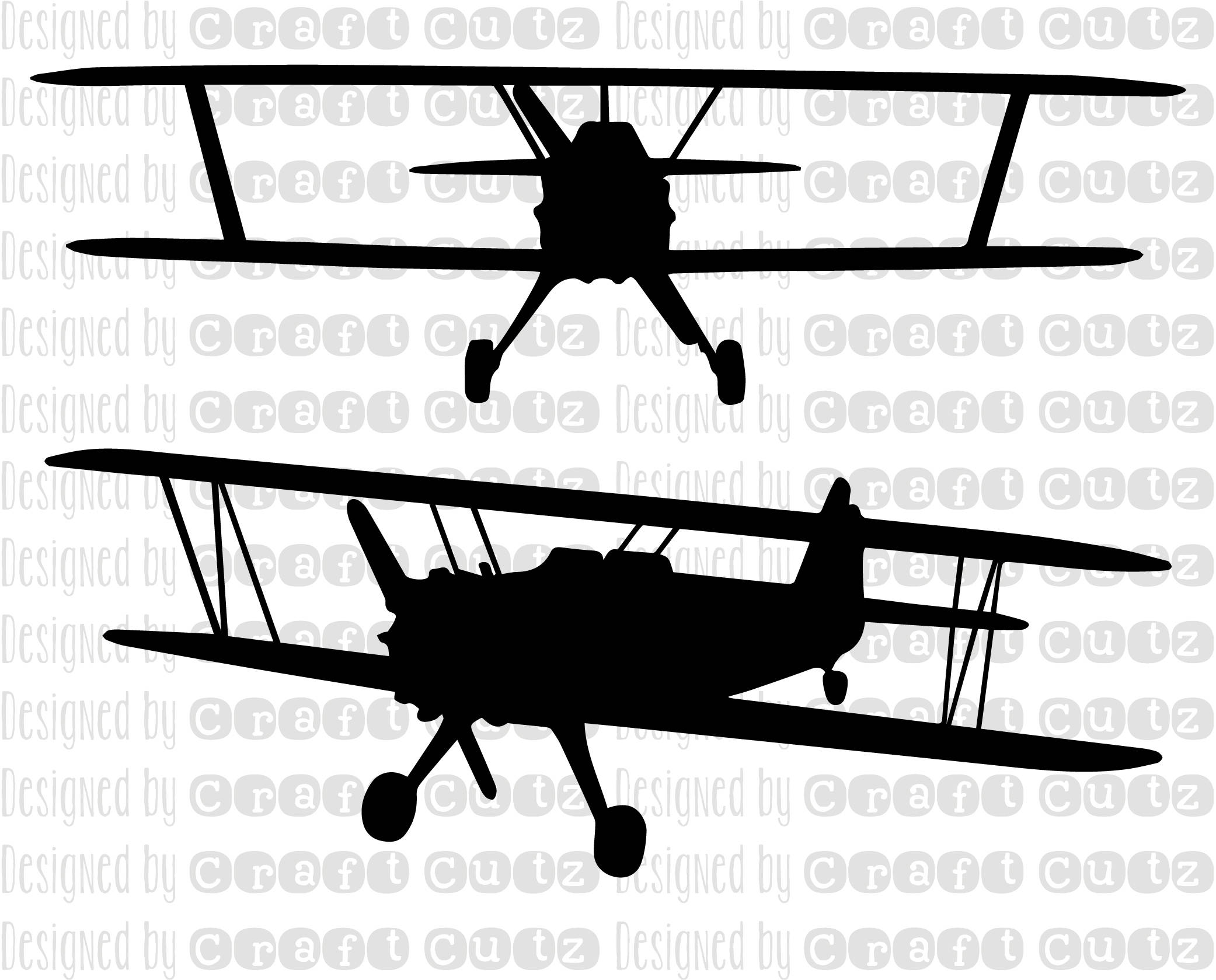 Biplane clipart svg, Biplane svg Transparent FREE for.