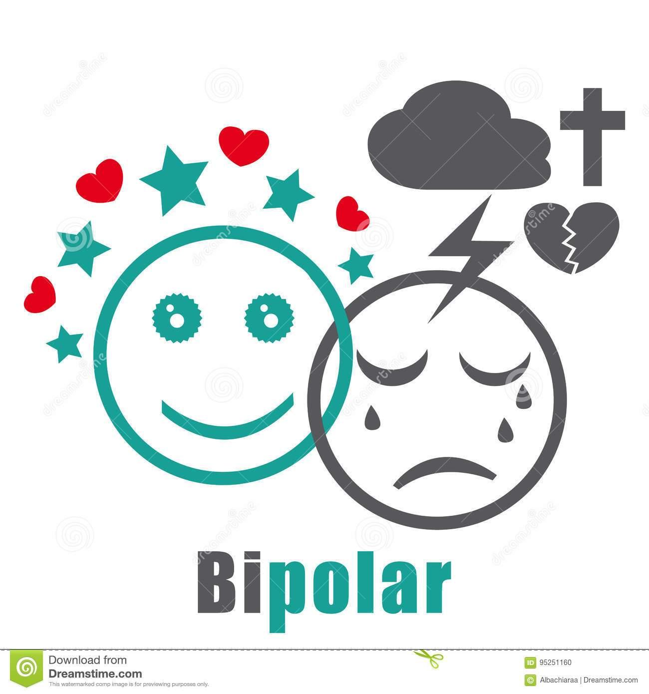 Bipolar disorder clipart 3 » Clipart Portal.