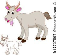 Chèvres Clip Art et Graphisme. 7 609 chèvres La recherche de.