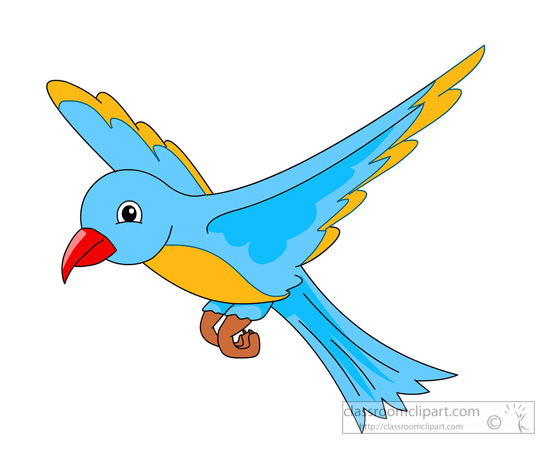 Bird Clip Art For Kids.